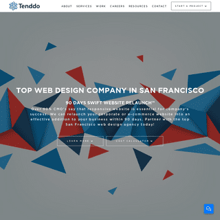 Web Design San Francisco - Professional Website Design - Tenddo