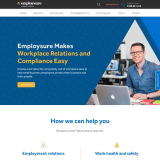 Employsure - Australia's Workplace Relations & WHS Specialists