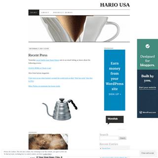 HARIO USA - King of Glass