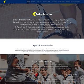 ArchiveBay.com - deportescolsubsidio.com - Home - Deportes Colsubsidio
