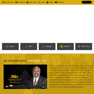 ArchiveBay.com - alasu.edu - Home - Alabama State University