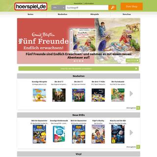 ArchiveBay.com - hoerspiel.de - hoerspiel.de- Hörspiele, Downloads, Bücher online kaufen!