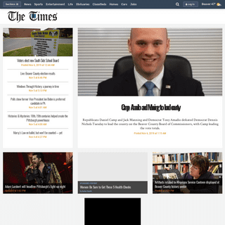The Times- Local News, Politics, Entertainment & Sports in Beaver, PA