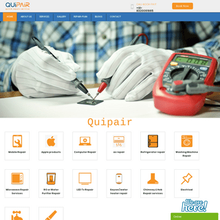 Quipair - Home Appliance & electronic service in Ahmedabad