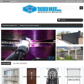 Carpintería Metálica, hierro, aluminio acero inox y pvc - Todo Metal