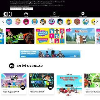 Cartoon Network - Çocuklar için Ücretsiz Online Oyunlar, Yüklemeler, Yarışmalar ve Videolar