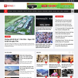 Tin tức online 24h, Tin nhanh, Đọc báo mới trong ngày - Trí Thức VN