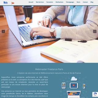 ArchiveBay.com - monsitewebperso.fr - Webmaster Freelance - Indépendant Paris - Création site web Paris