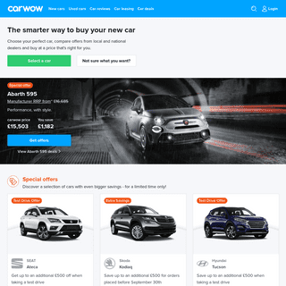 ArchiveBay.com - carwow.co.uk - carwow - The better way to buy a new car