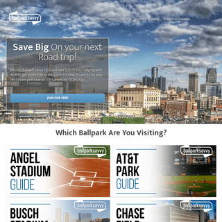 ArchiveBay.com - ballparksavvy.com - Ballpark Savvy - Tips on Parking, Food and Tickets For Each MLB Stadium