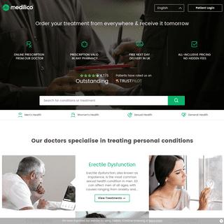 Medilico Online Doctor - Treating Patients Online
