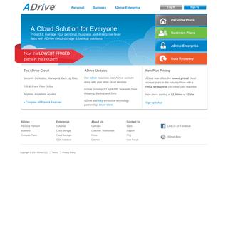 ADrive - Online Storage, Online Backup, Cloud Storage