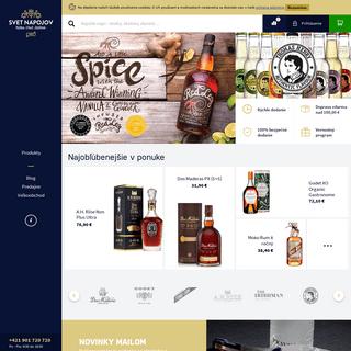 ArchiveBay.com - svetnapojov.sk - Alkohol eshop, donáška alkoholických nápojov - Svet nápojov