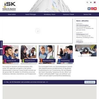 Institut für Sprachen und Kommunikation - ISK e.V.