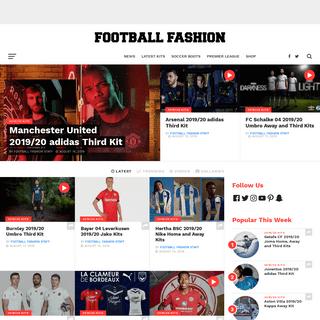 ArchiveBay.com - footballfashion.org - Home - FOOTBALL FASHION.ORG