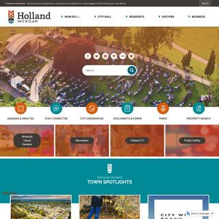 Holland, MI - Official Website