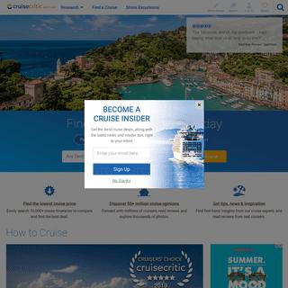ArchiveBay.com - cruisecritic.com.au - Cruise Reviews, Cruise Deals and Cruises - Cruise Critic