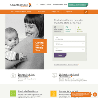 ArchiveBay.com - acpny.com - Primary Care Doctors & Specialists in NYC - AdvantageCare Physicians