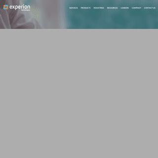 Enterprise Software Services & Solutions- Experion Technologies