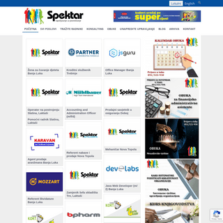 Agencija Spektar - Posredovanje pri zapošljavanju - Oglasi za posao