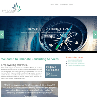 Welcome - Emanate Consulting