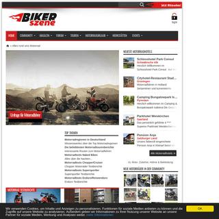 Motorrad Online Portal - Motorradtest, Motorradtouren, Motorradzubehör - bikerszene