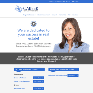 Career Education Systems - Home