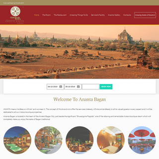 Ananta Bagan - Bagan - Myanmar - Ananta Bagan - Bagan, Myanmar