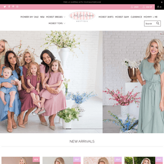 Modest Dresses and Church Dresses from NeeSee's Dresses