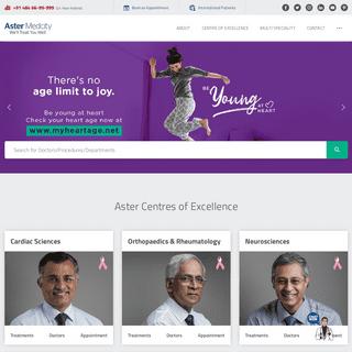 Aster Medcity Hospital Kerala, India