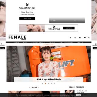 Female Singapore - The Progressive Women's Fashion & Beauty Magazine