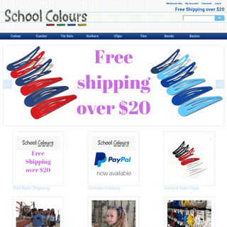School Colours Hair Accessories Home Page School Colours Hair Accessories