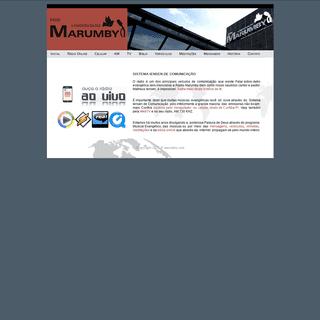 Rádio Marumby de Curitiba Pr. ( www.marumby.com ) Iensen ®