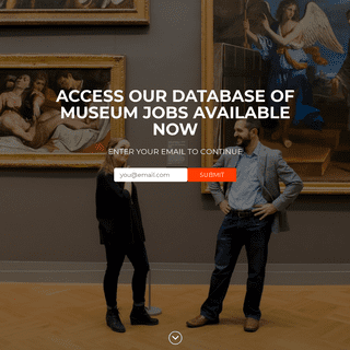 The Best Museum Jobs Available Now - Museum.Jobs