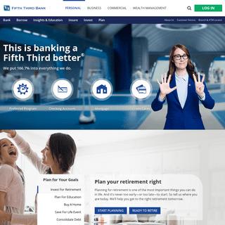 Personal Banking - Fifth Third Bank