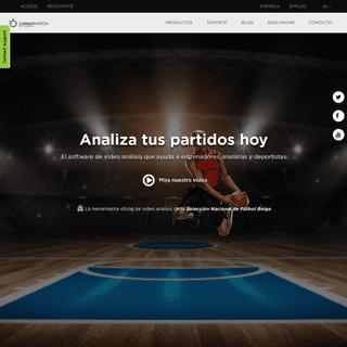 LongoMatch - La herramienta de videoanálisis para entrenadores, analistas deportivos y jugadores