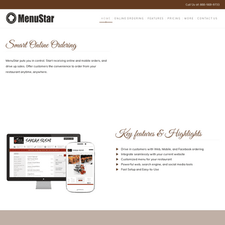 MenuStar - The Ultimate Online Ordering System for Restaurants