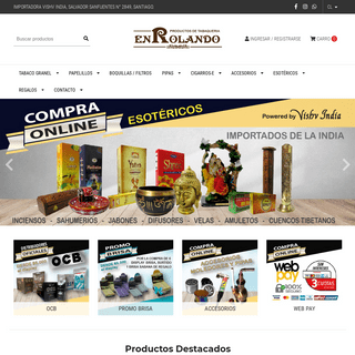 Enrolando.cl - Primera Tabaqueria Online de Chile