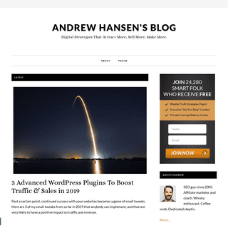 Andrew Hansen- Learn To Attract More, Sell More & Make More Online