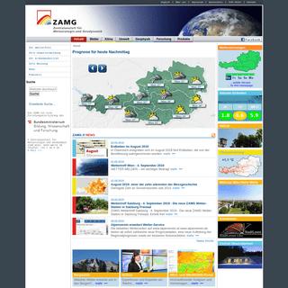 Zentralanstalt für Meteorologie und Geodynamik — ZAMG