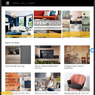 Nội Thất Retro 1988 Design - Tư vấn Thiết kế nội thất và kiến trúc