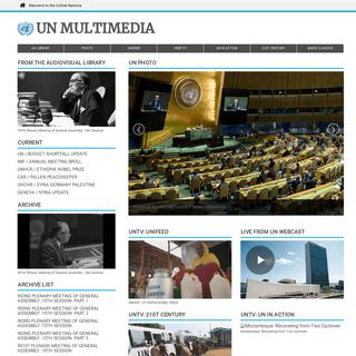 United Nations Multimedia, Radio, Photo and Television