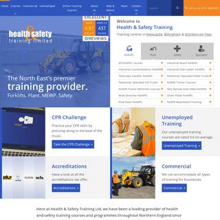 Health & Safety Training Ltd - Newcastle, Sunderland & Durham