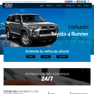 ArchiveBay.com - agmrentacar.cl - AGM Rent a Car -- Arriendo de Autos en Punta Arenas