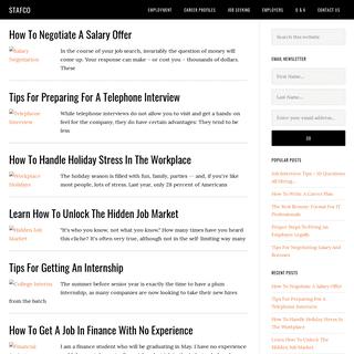 Homepage - Stafco