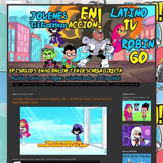 Los Jóvenes Titanes en Acción LatinoHD