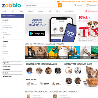 Djuraffär på nätet- köp billiga husdjursprodukter och foder till husdjur
