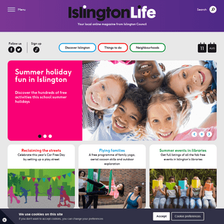 IslingtonLife - Your local online magazine from Islington Council