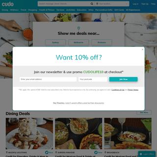 Australia Deals - Discount Hotels, Restaurant Deals & More - Cudo