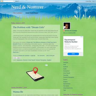 ArchiveBay.com - nerdandnurturer.blogspot.com - Nerd & Nurturer